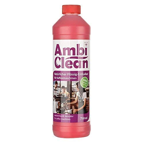 AmbiClean® Universal-Entkalker für Kaffeevollautomaten, Wasserkocher, Bügeleisen, etc.   Mit allen Herstellern kompatibel - 750ml