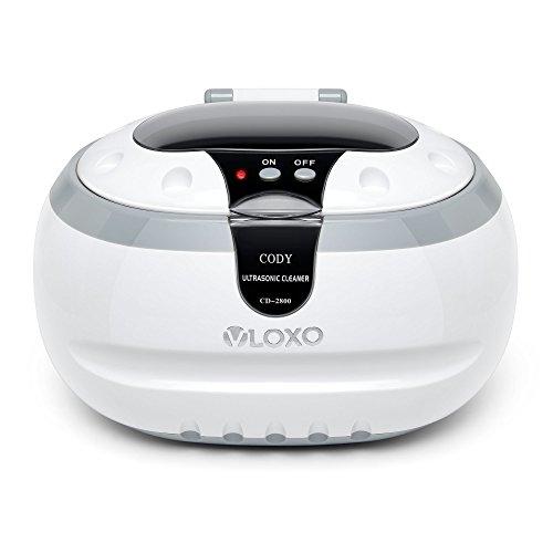 Ultraschallreinigungsgerät Ultraschallreiniger Ultraschallgerät 600ml - VLOXO für Brille Uhren Schmuck Ohrringe Ringe Halsketten Rasierer Zahnprothesen Werkzeuge MEHRWEG