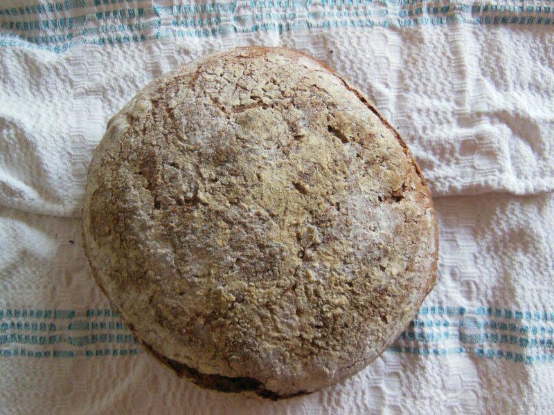 Brot rund Brotbackform mit Deckel