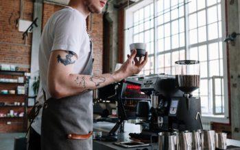 Espressomühle mit Waage