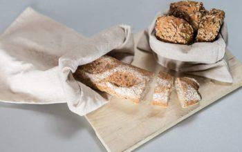 Brot aufbewahren Stoffbeutel