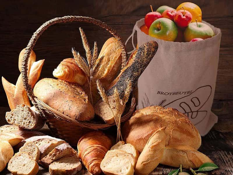 Leinen Brotbeutel