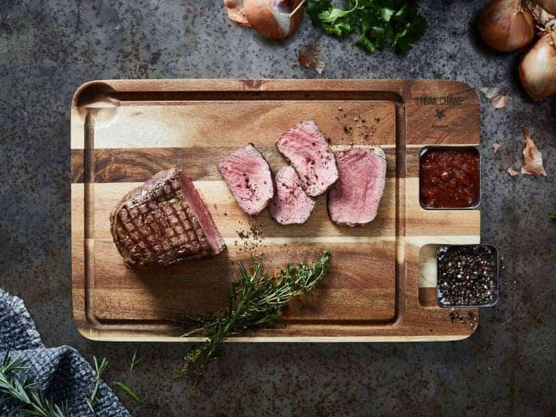 Steakbrett mit Saftrille